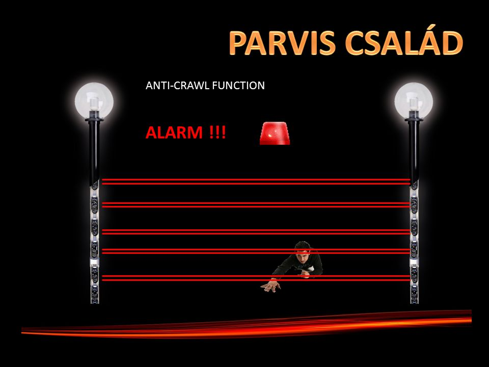 ALARM !!! ANTI-CRAWL FUNCTION