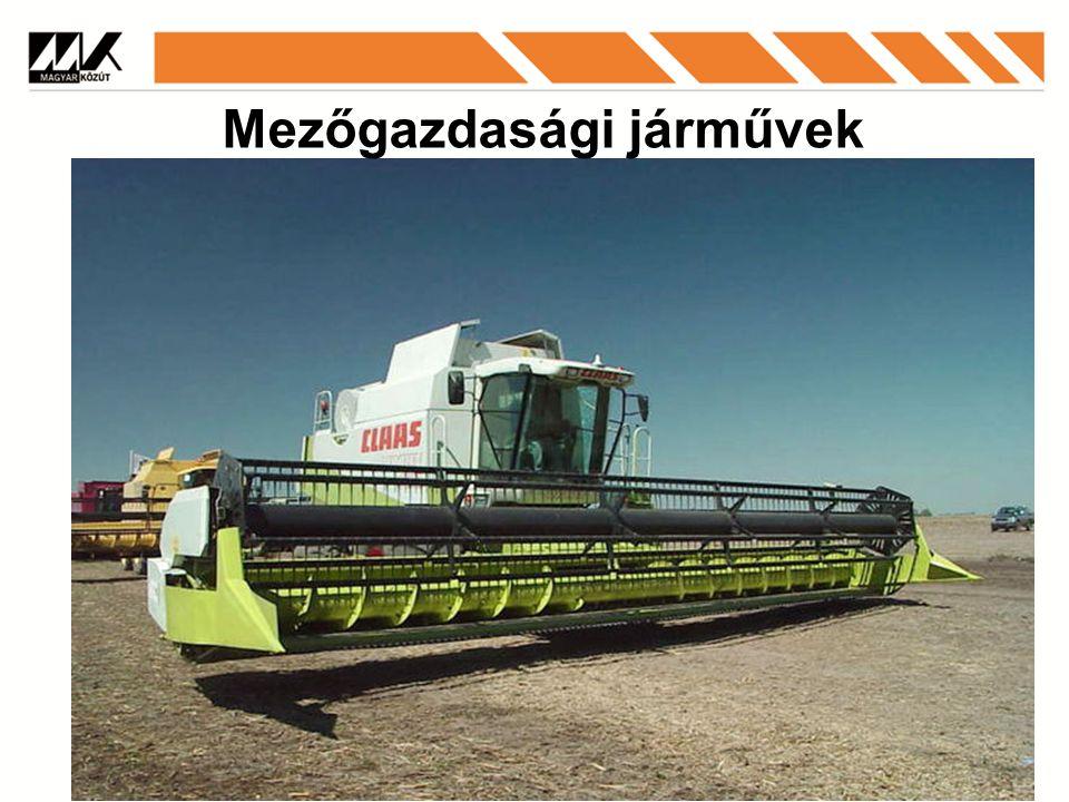 Mezőgazdasági járművek
