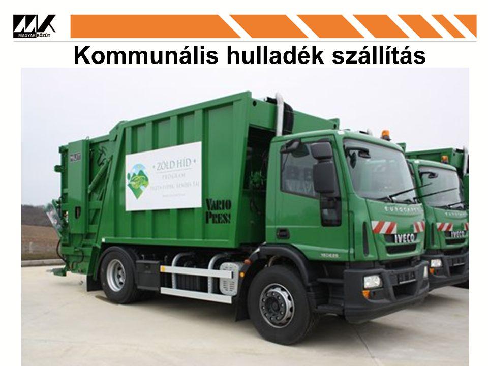 Kommunális hulladék szállítás