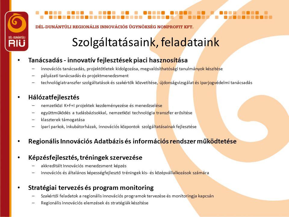 Nemzetközi kapcsolataink 2009.szept.-2011.dec.