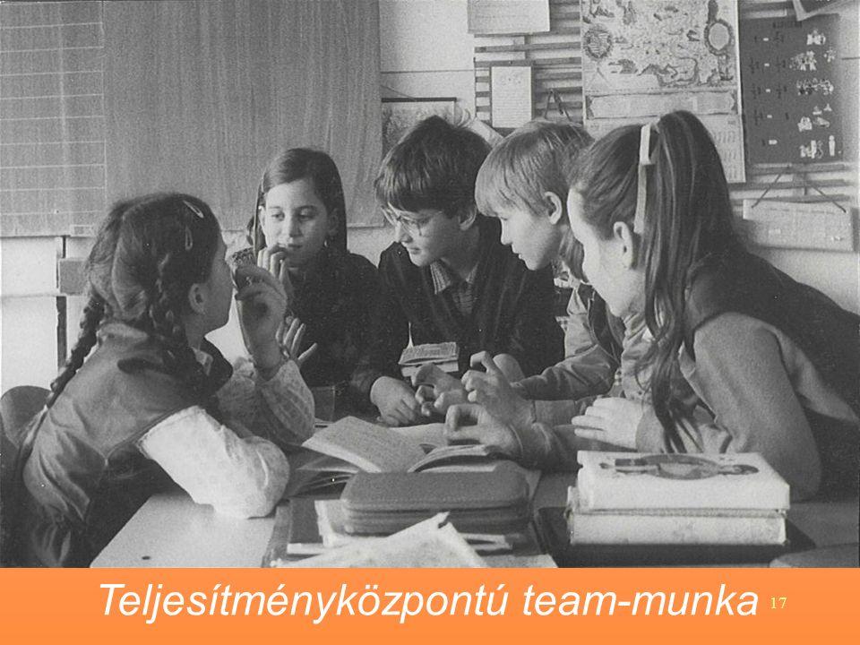 17 Teljesítményközpontú team-munka