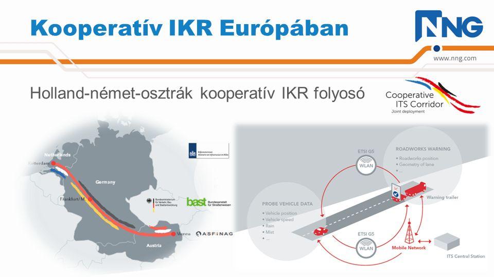 Kooperatív IKR Európában Holland-német-osztrák kooperatív IKR folyosó