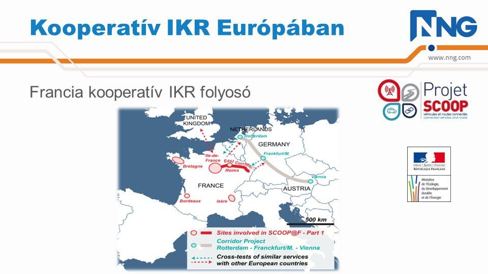 Kooperatív IKR Európában Francia kooperatív IKR folyosó