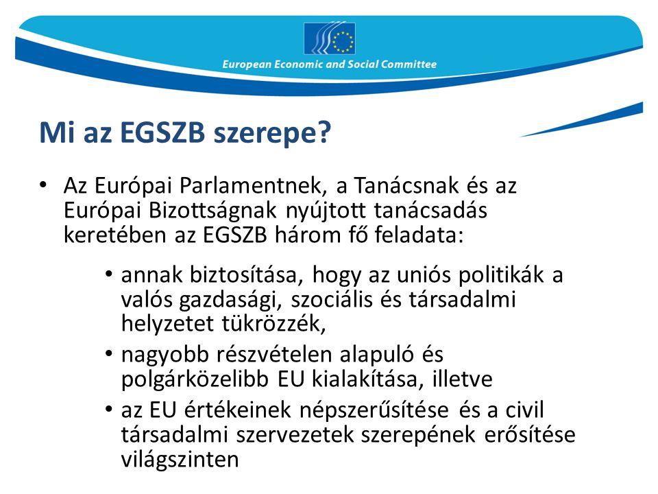 Mi az EGSZB szerepe.