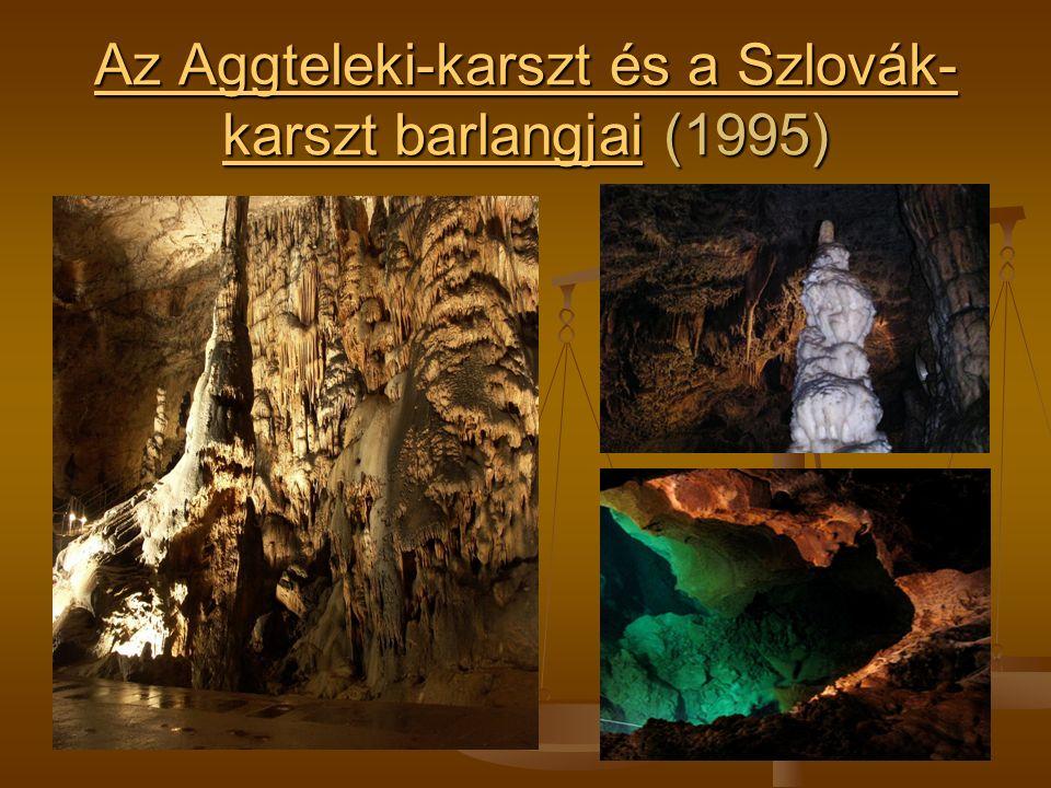Az Aggteleki-karszt és a Szlovák- karszt barlangjaiAz Aggteleki-karszt és a Szlovák- karszt barlangjai (1995) Az Aggteleki-karszt és a Szlovák- karszt barlangjai