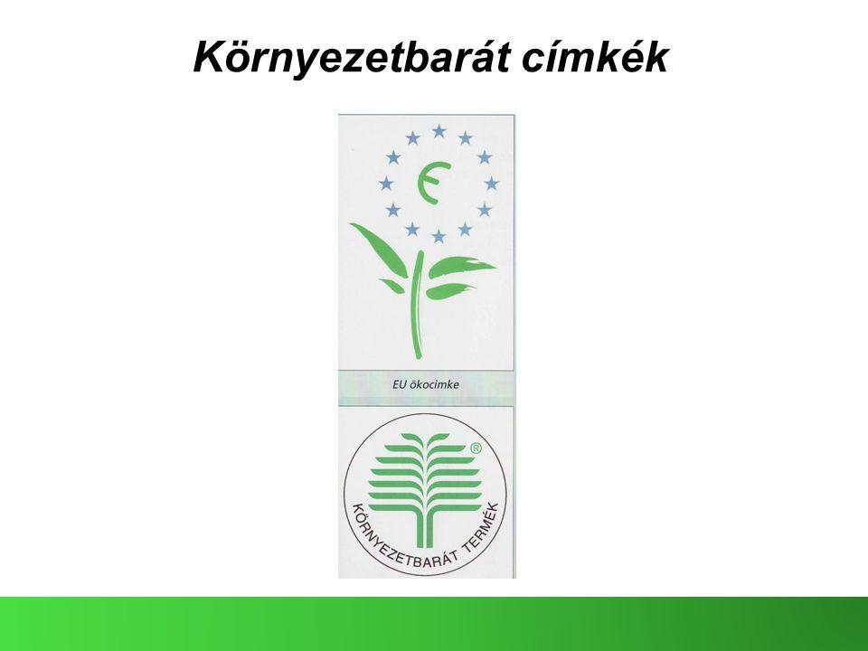 Környezetbarát címkék