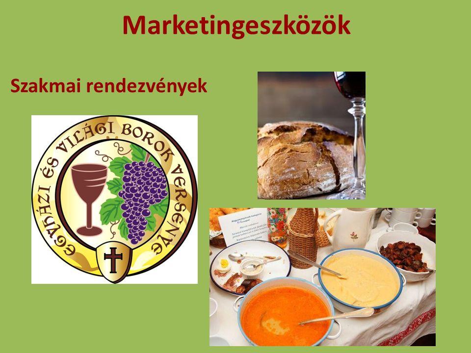 Marketingeszközök Szakmai rendezvények