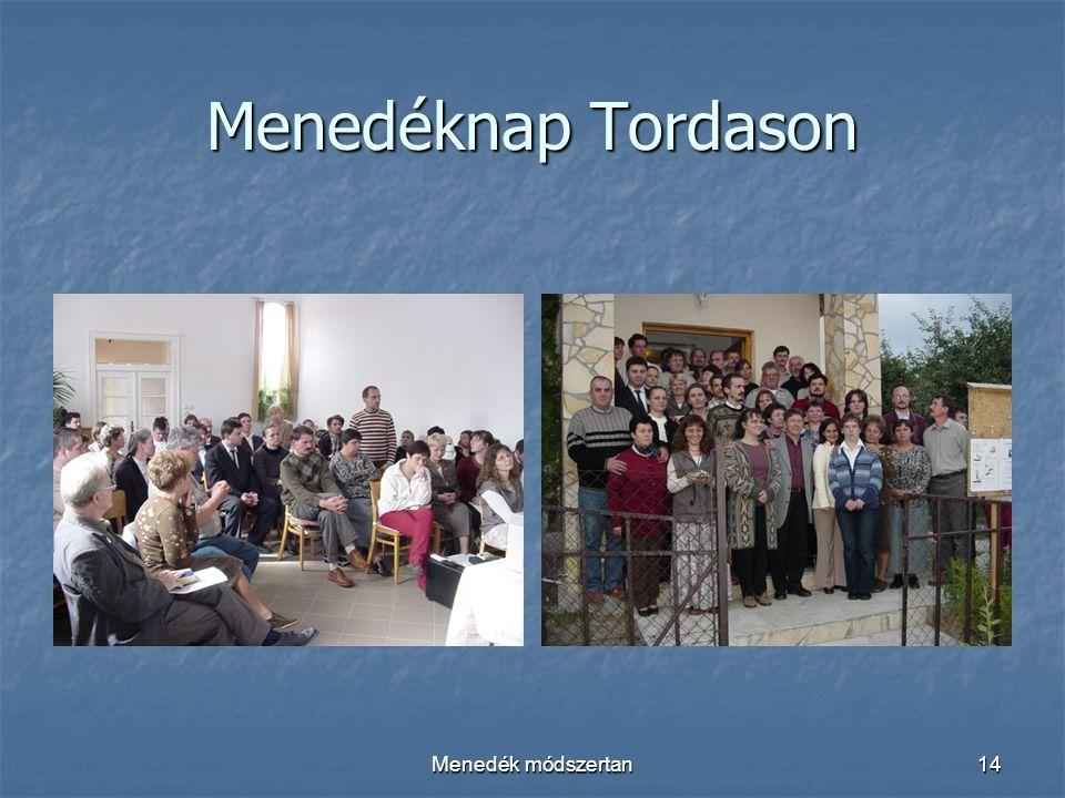 Menedék módszertan14 Menedéknap Tordason