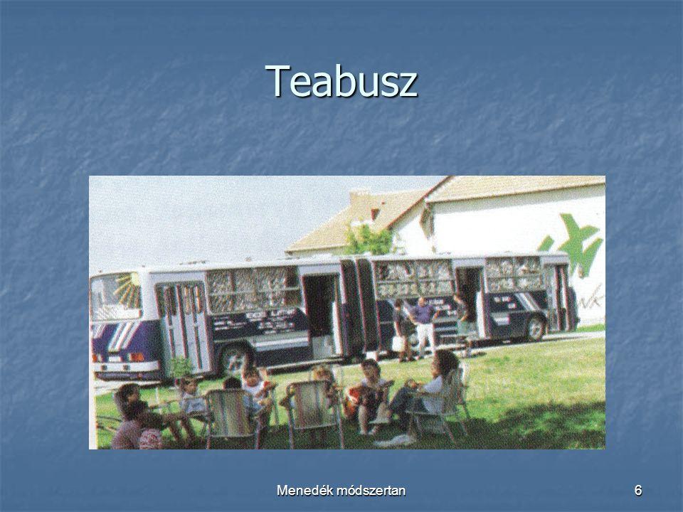 Menedék módszertan6 Teabusz