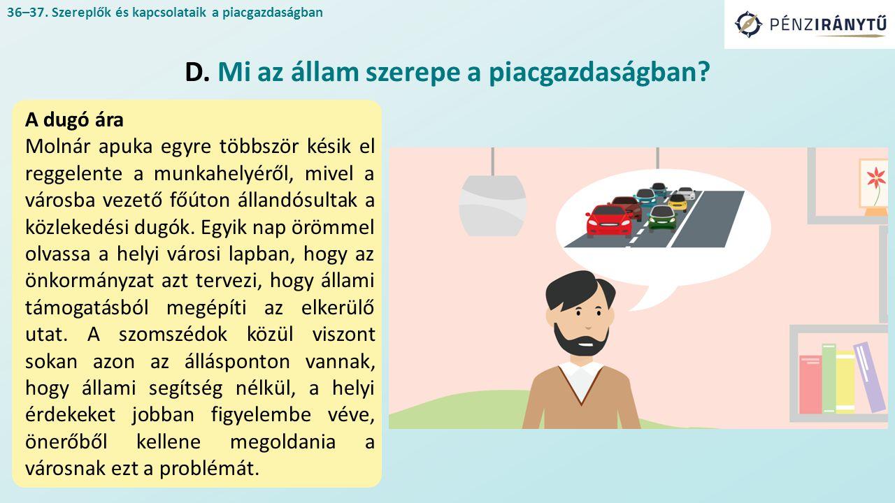 A dugó ára Molnár apuka egyre többször késik el reggelente a munkahelyéről, mivel a városba vezető főúton állandósultak a közlekedési dugók.