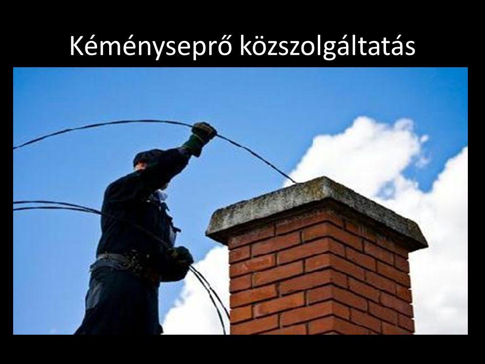 Kéményseprő közszolgáltatás