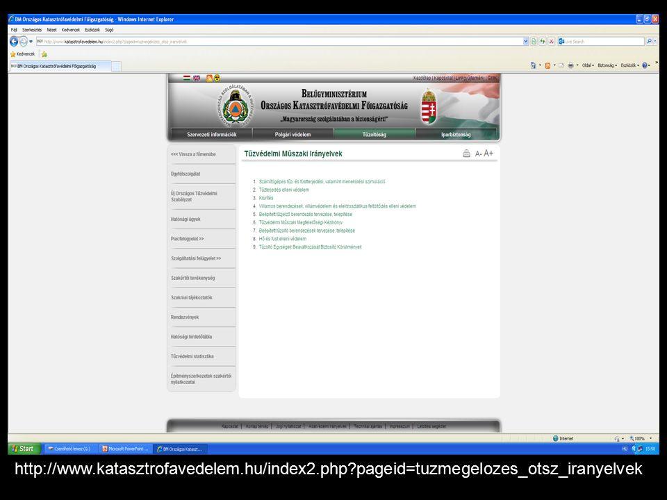 http://www.katasztrofavedelem.hu/index2.php?pageid=tuzmegelozes_otsz_iranyelvek