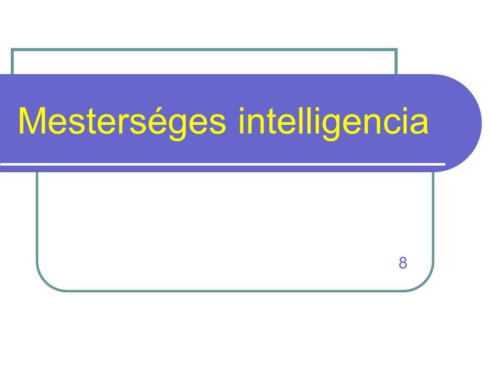 Mesterséges intelligencia 8
