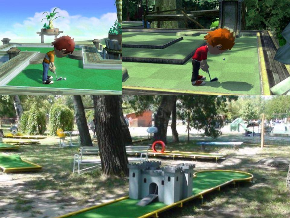 Golf  Pálya: 60-80 hektáron.18 szakaszból áll. 1 szakasz 100-500 m terjedhet.