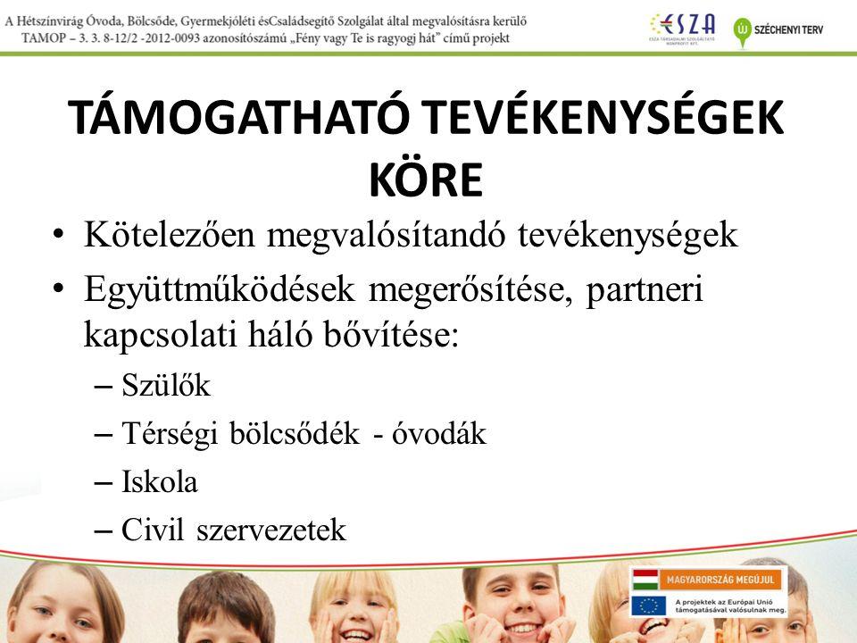 TÁMOGATHATÓ TEVÉKENYSÉGEK KÖRE Jelen kiírás célcsoportja a halmozottan hátrányos helyzetű1 közoktatási intézménybe járó gyerekek, tanulók, köztük roma származású gyermekek, tanulók, továbbá az őket nevelő oktató pedagógusok.