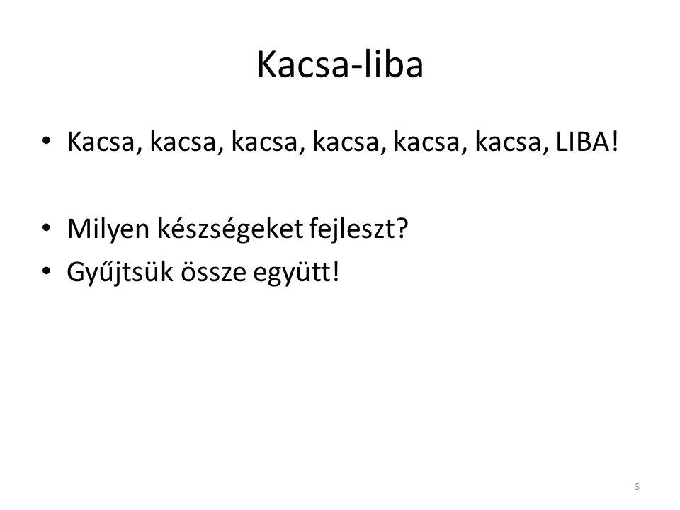 Kacsa-liba Kacsa, kacsa, kacsa, kacsa, kacsa, kacsa, LIBA.