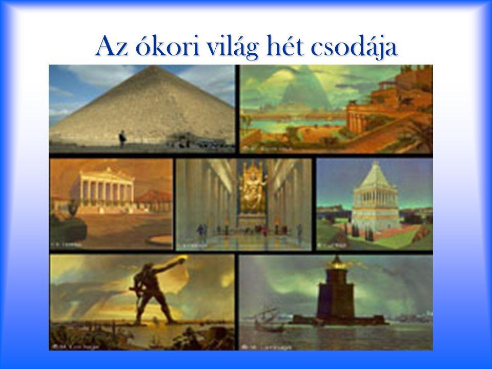 Az ókori világ hét csodája