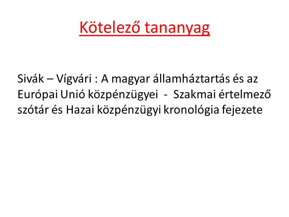 3.§ (1) Az államháztartás központi és önkormányzati alrendszerből áll.