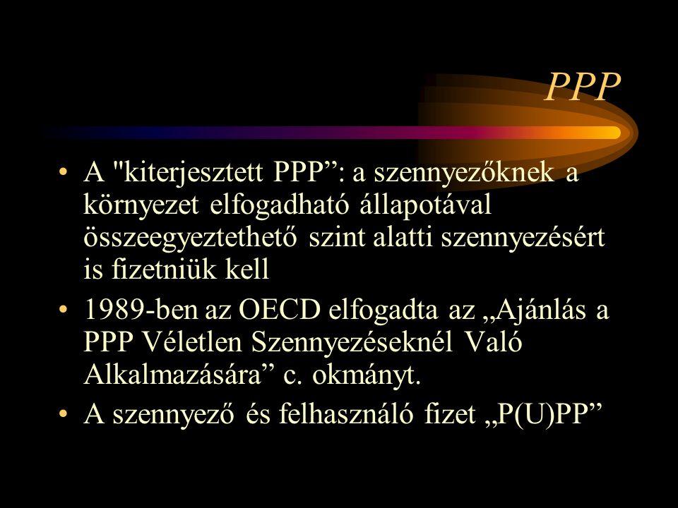 A PPP elv betartásának kritériumai A fizetett teljes ellenőrzési, tisztítási költségek részaránya.