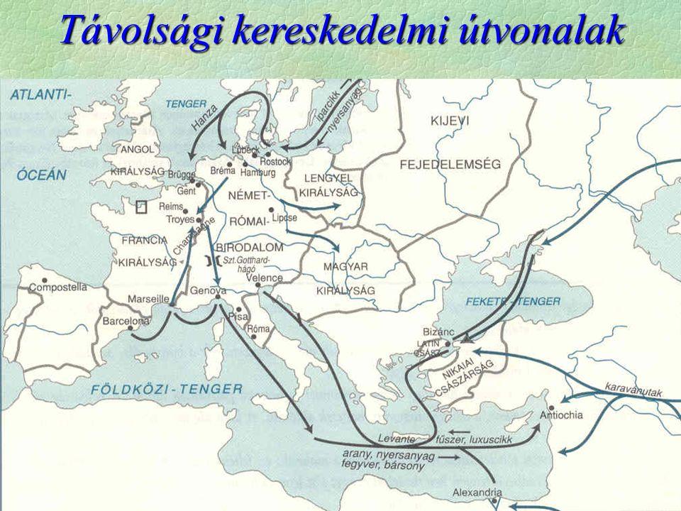 Távolsági kereskedelmi útvonalak