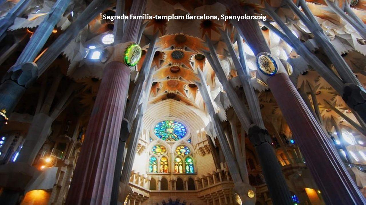 Sagrada Familia-templom Barcelona, Spanyolország