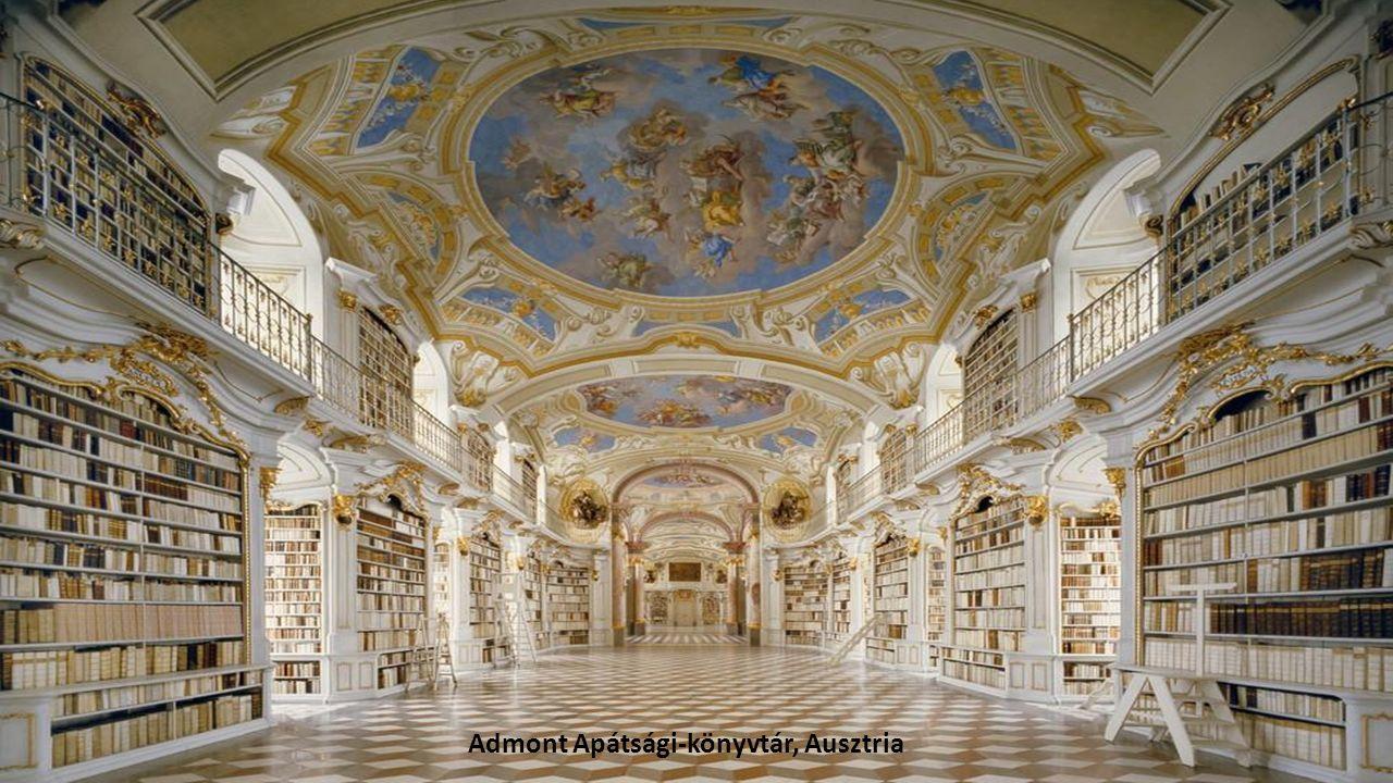 Admont Apátsági-könyvtár, Ausztria