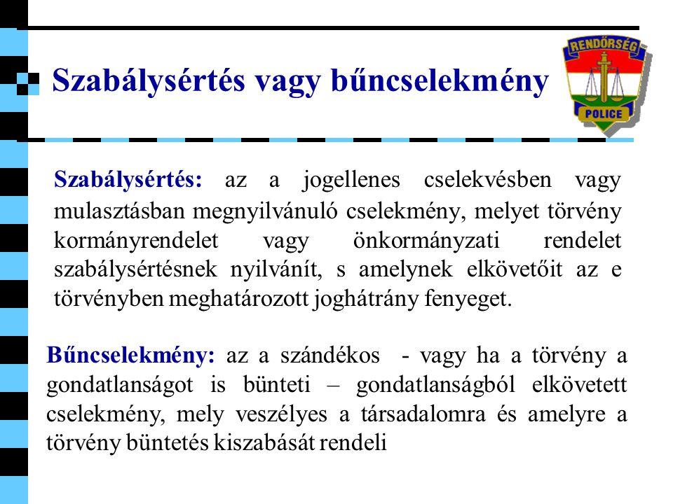 A bűncselekmények elkövetői (tettesek) Elkövetők a tettes és a társtettes (tettesek), valamint a felbujtó és a bűnsegéd (részesek).