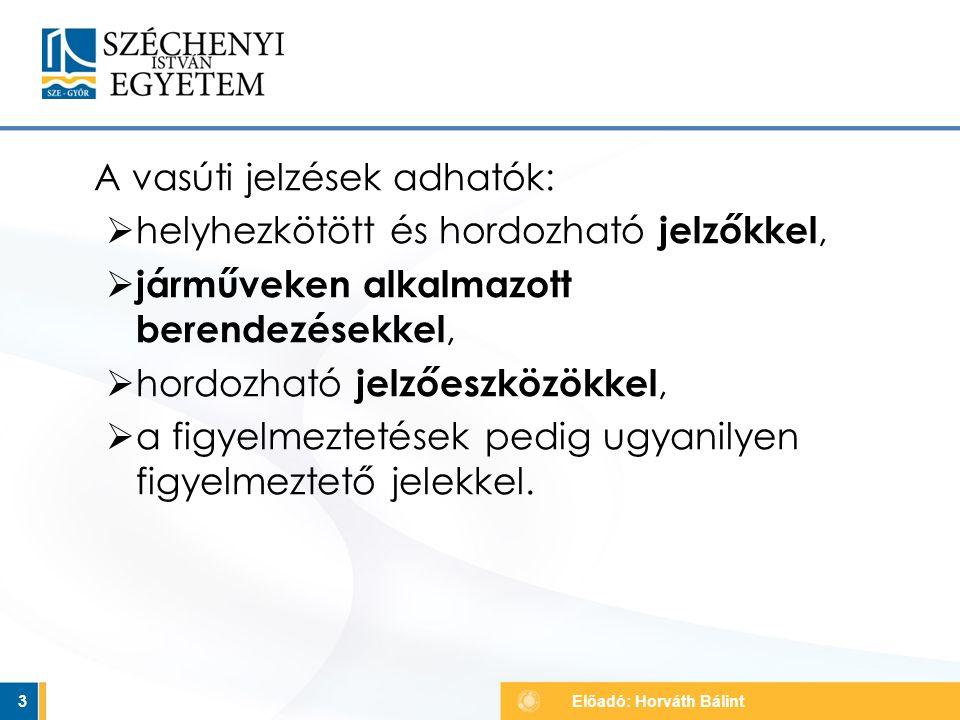  közút felől  úgynevezett Andráskereszt 54 Vasúti átjáró kezdete jelző Előadó: Horváth Bálint egy keresztező vágány kettő vagy több keresztező vágány
