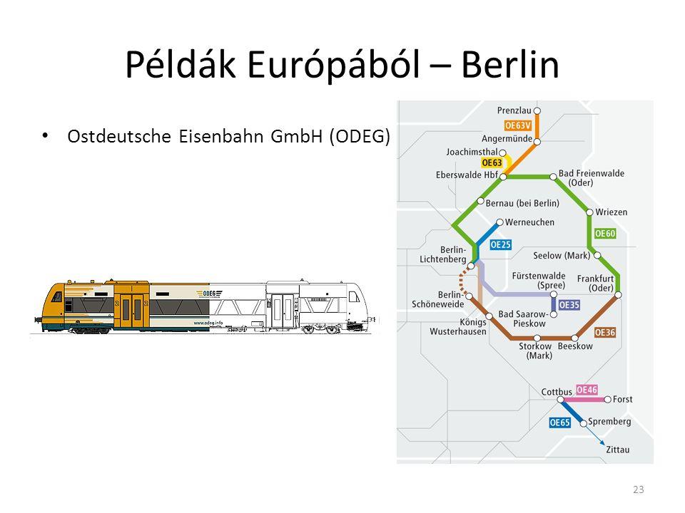 Példák Európából – Berlin Ostdeutsche Eisenbahn GmbH (ODEG) 23