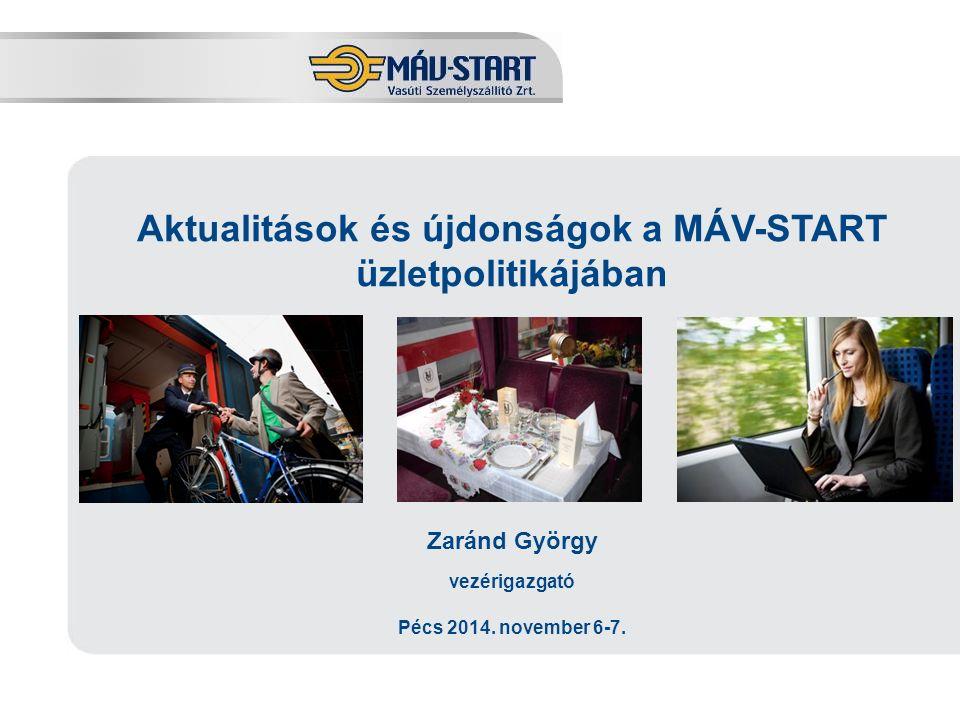 Kínálatbővítés Budapest és Bécs között Bécsi főpályaudvar átadásának következtében 2015-ben csúcsidei kapacitásbővítés Új átlós vonatok Belgrádból és Debrecenből Bécsbe 2016-tól órás ütemre való átállás, menetidő-csökkentés A railjet-ek közötti ütemben EuroCity-szerelvények További átlós viszonylatok indítása (Kolozsvár) Menetidő körülbelül 2 óra 10 percre csökken Kelenföld és Bécs Hauptbahnhof között Cél: a Budapest-Bécs közötti megnövekedett forgalomnak megfelelő kapacitás, valamint új csatlakozások és összeköttetések kialakítása.