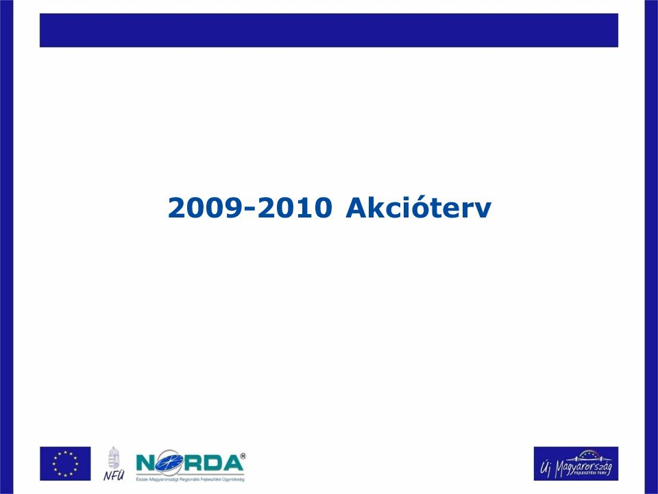 2009-2010 Akcióterv