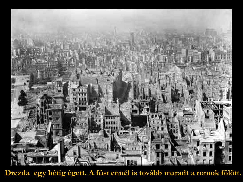… a város fölött is kioldva halálos terhüket, befejezték a pusztítást.