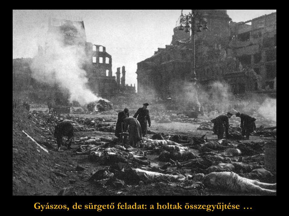 A belvárosban mindenütt holttestek hevertek.