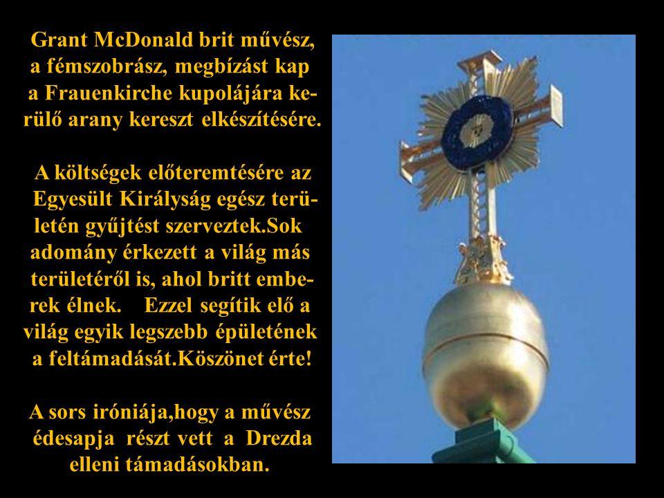 """… és a """"Frauenkirche gyorsan formálódik."""
