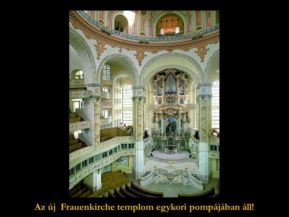 Csodálatos az új belső kupolája és a rotunda látképe is.