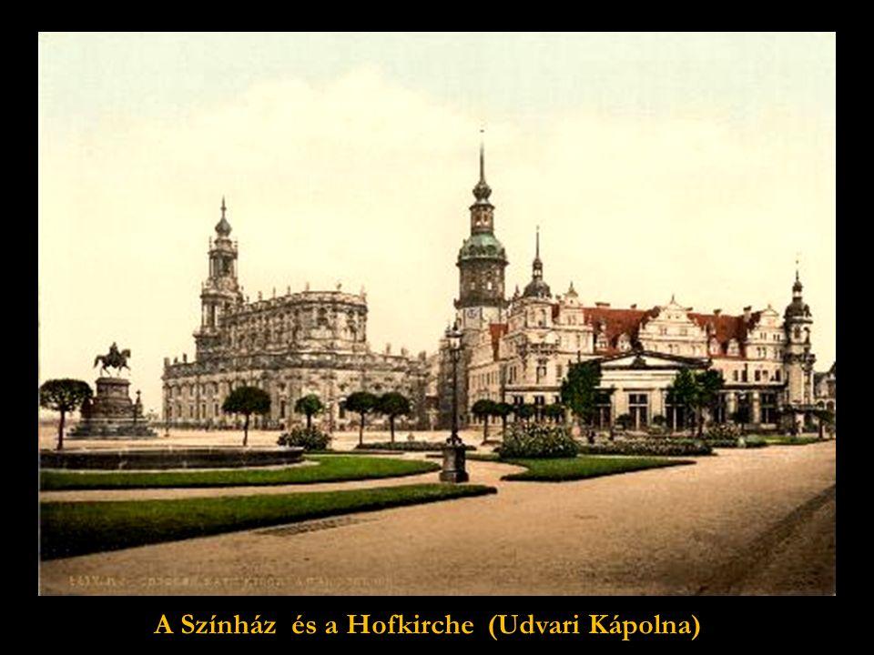 """Az 1743-ban épült Frauenkirche """"Miasszonyunk"""