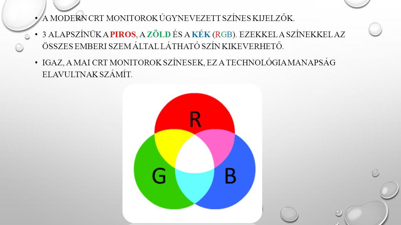 AZ LCD MONITOR AZ LCD (LIQUID CRYSTAL DISPLAY) FOLYADÉKKRISTÁLYOS KÉPERNYŐ.