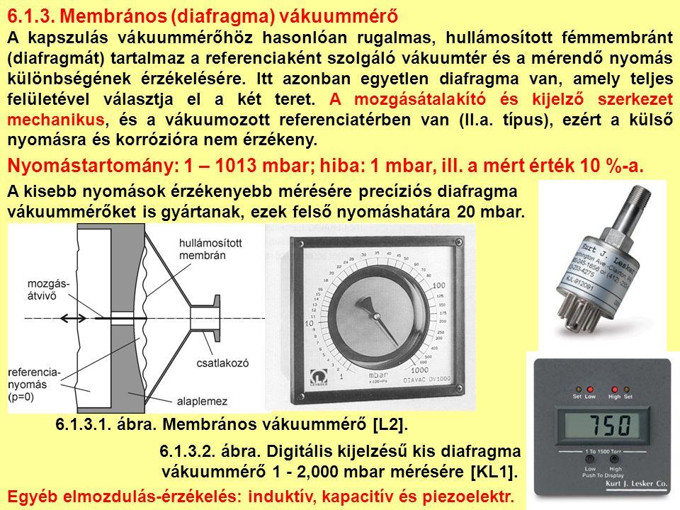Izzókatódos és hidegkatódos ionizációs vákuummérők összehasonlítása IZZÓKATÓDOSHIDEGKATÓDOS ELŐNY könnyű bekapcsolás, rugalmas, hosszú életű, jól kalibrálható, alacsony teljesítményfelvétel, szennyezéseket jobban elviseli, nem szükséges kigázosítani, röntgen-hatás nyomással arányos (gyakorlatilag elhanyagolható), levegőbetörésre nem érzékeny, HÁTRÁNY a katód kiéghet, bekapcsolási idő nyomásfüggő, nagyobb teljesítményfelvétel, a jel instabilitása, kigázosítás szükséges, szennyezésre érzékenyebb.