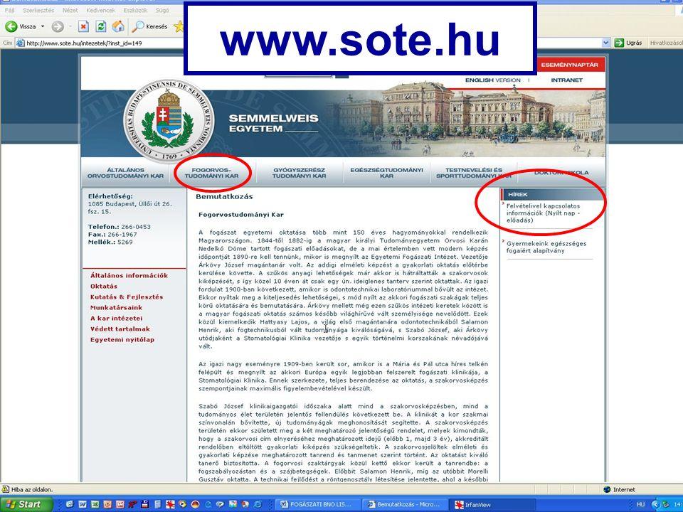 www.sote.hu
