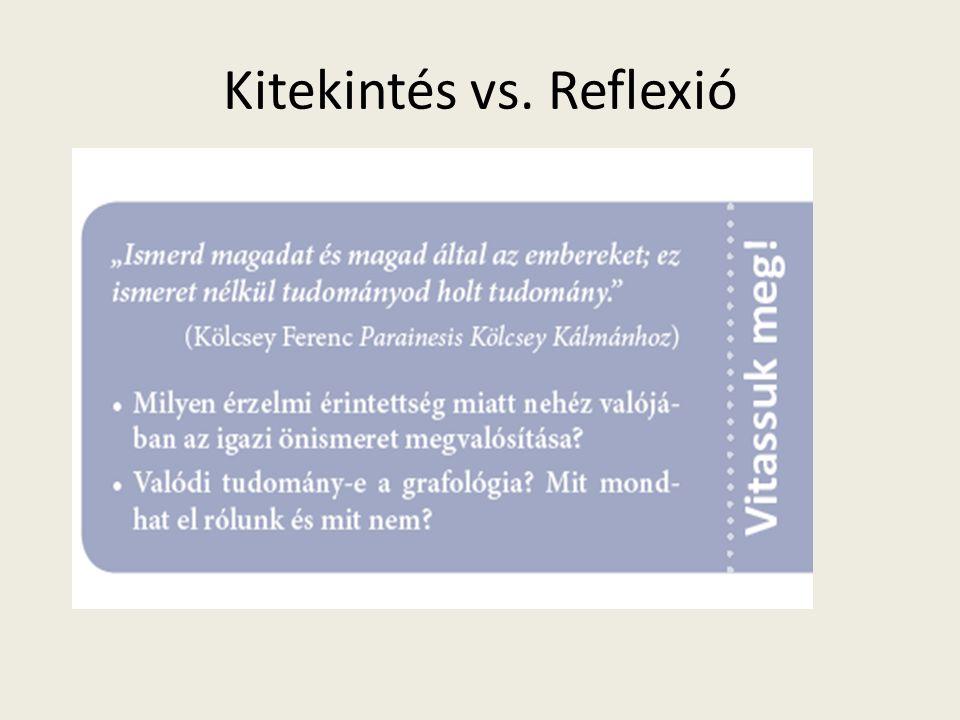 Kitekintés vs. Reflexió