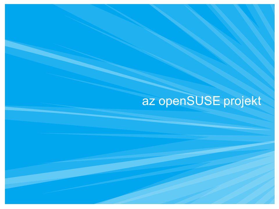 az openSUSE projekt