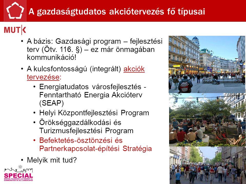 A bázis: Gazdasági program – fejlesztési terv (Ötv.
