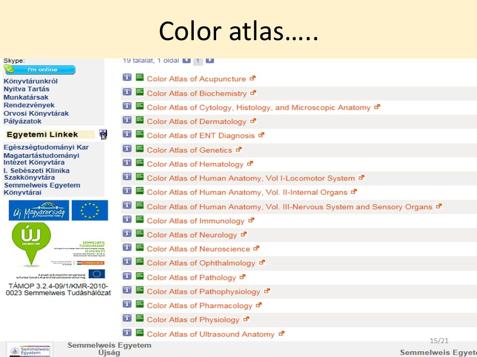 Color atlas….. 15/21