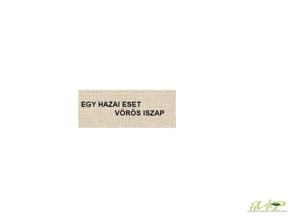 EGY HAZAI ESET VÖRÖS ISZAP