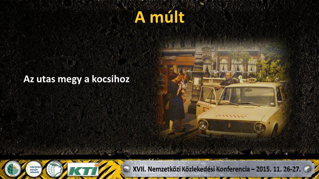 A múlt A nem állomási utas felvétel eszköze az URH. Civil használatban 1968-tól. (Volántaxi)