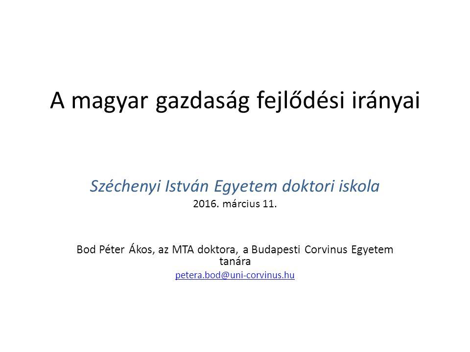 A magyar társadalom értékrendje közel áll a balkáni- ortodox világéhoz Tárki, 2009