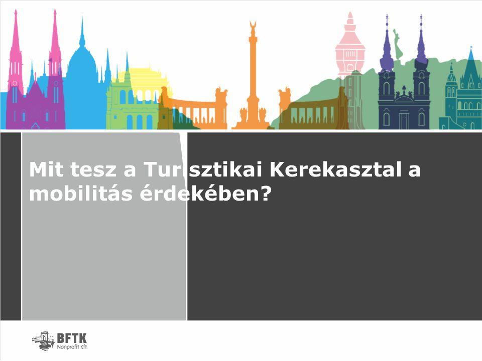 Mobilitás és infrastruktúra A Turisztikai Koncepció és Stratégiai Akcióterv 3.5.) pontja: Mobilitás és infrastruktúra – eljutás és a turistaváros működése