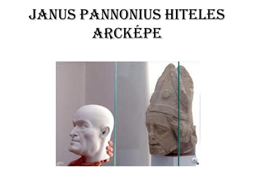 JANUS PANNONIUS HITELES ARCKÉPE