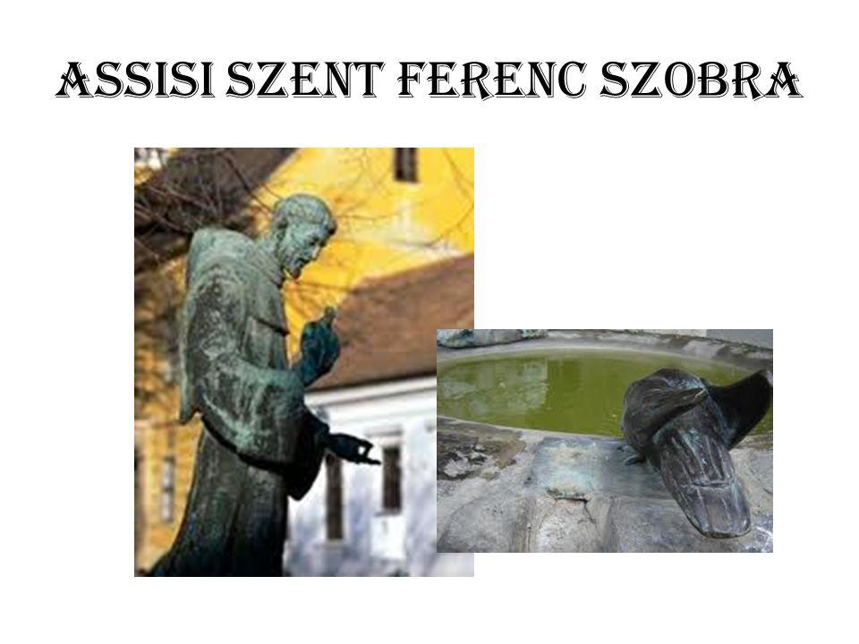 Assisi Szent Ferenc szobra
