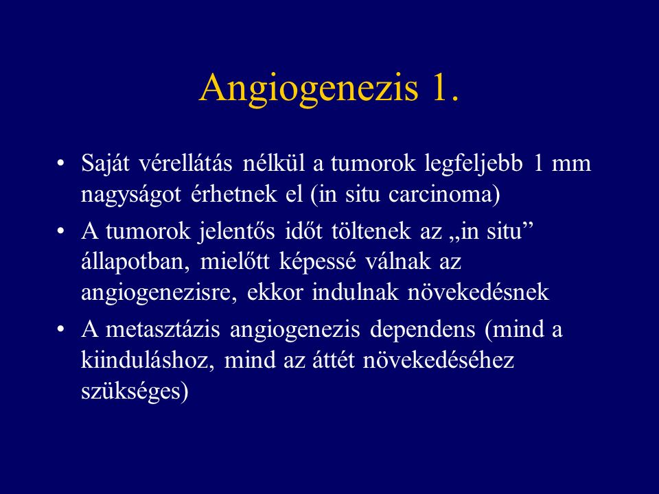 Angiogenezis 1.